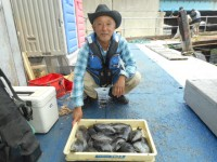 <p>沖の北で、グレ好釣!!</p> <p>奈良の井澤様、25cm~30cmのグレ17匹</p> <p>フカセ オキアミ</p>