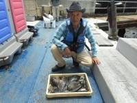 <p>奈良の井澤様、沖の北で、22~30cmのグレ18匹</p> <p>ヌカ切 オキアミ</p>
