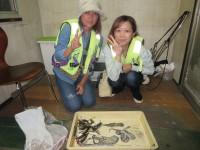 <p>岸和田市のゆかちゃん・りさちゃん、沖の一文字白灯で、アジ18cm前後30匹・タチウオ指2本サイズ1匹・タコ200g前後3杯</p> <p></p>