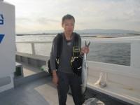 <p>和泉市の西端様 沖の北で</p> <p>サワラ 75センチと サゴシ 45センチ</p> <p>ルアーでの釣果です</p>