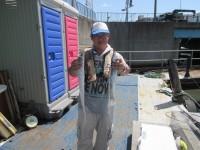 <p>旧一文字・沖一文字で、タチウオが釣れ始めています。</p> <p>サビキでは、沖一文字で16~18cmのアジが引き続き好釣です。</p> <p>堺市の出口様、沖の北で、タチウオ 2匹 餌カタクチイワシ</p>
