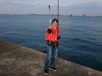 <p>奈良からお越しの江川様。</p> <p>沖の北でイワシが鈴なりで釣れています!</p> <p>連休まで爆釣が続きそうですよ♪</p>