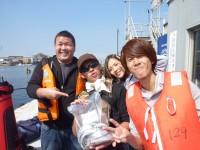 <p>堺市のチーム西森様 沖の北で</p> <p>タチウオ イワシなど</p> <p>サビキ ルアー</p>