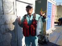 <p>岸和田市の大場様、沖の北で、70cmのメジロ</p> <p>のませ釣り 餌アジ</p>