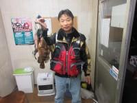 <p>堺市の中村様、沖の北で39センチまでのアコウ2匹です!</p> <p>シラサエビのウキ釣りです。</p>