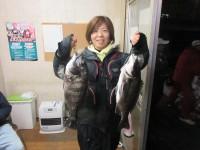 <p>和泉市の松原様、中波止3番でオキアミのフカセ釣りで</p> <p>42cmまでのチヌ2匹です!</p> <p>&nbsp;</p>