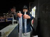 <p>堺市の吉村様、沖の一文字白灯で、太刀魚 指4本まで2匹・アジ18cm前後100匹前後</p> <p>太刀魚(ウキ釣り・サンマ)アジ(サビキ・アミエビ)</p>