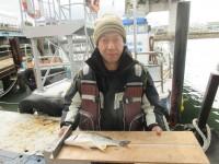 <p>東大阪市の羽野様、旧一文字カーブで、35cmのキビレ</p> <p>投げ釣り 餌赤イソメ</p>