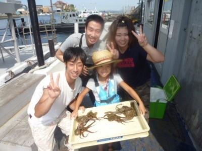 <p>和泉市の宮川様、旧一文字カーブで</p> <p>400gまでのタコ6匹</p> <p>釣り方・タコジグ</p>