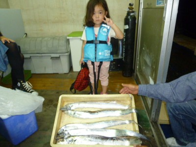<p>堺市の浦島様、沖の一文字北で、タチウオ 指4本まで5匹</p> <p>ワインド</p>