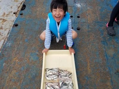 <p>岐阜県のにしおたいようくん、旧の一文字で、小アジ・小サバ 120匹</p> <p>サビキ釣り 餌アミエビ</p>
