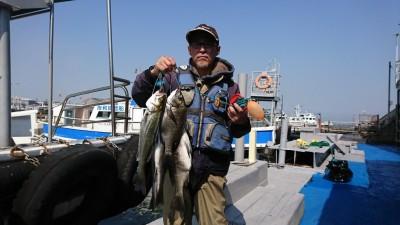 <p>前田様 沖の北 外向き エビ撒き釣り タナ5ヒロ</p> <p>チヌ43.0cmまでを2匹 ハネ47.5cmまでを3匹</p> <p>6時半頃からあたりはじめて40分ほど釣れ続いたそうです。</p> <p>ハネ・チヌダービーエントリーありがとうございます!</p> <p>他のかたの釣果ですが沖の北先端より内向きで</p> <p>フカセ釣りで35cmのチヌもあがりましたよ。</p>