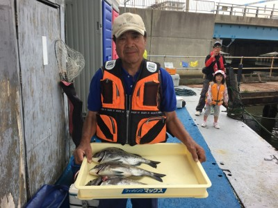 <p>前田様 沖の南 フカセ釣り</p> <p>チヌ39cmまでを3枚と見事な釣果です!</p> <p>チヌダービーへのエントリー、ありがとうございます。</p>