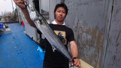 <p>松田様 沖の北 ショアジギでサゴシ75cmGET!</p> <p>サゴシの釣果も頂きました!HITしたあとラインブレイクする時はサゴシかサワラのせいかもしれませんね(&#8216;ω&#8217;)おめでとうございます!</p>