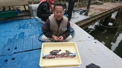 <p>津村様 沖の北 シラサエビで根魚を沢山♪アブシン・メバルなど サビキで豆アジも釣れたようです。釣果写真へのご協力ありがとうございます♪</p>