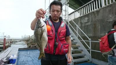 <p>近間様 旧一文字 白灯 紀州釣り 38㎝のチヌ! 朝からつくったポイントも南からの強風で釣りにならず、厳しい中での貴重な1枚!</p>