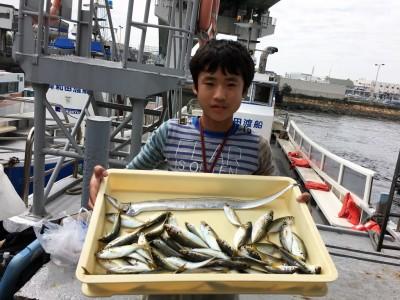 <p>小西様 沖の北 サビキ釣り/浮き釣り 小アジ大漁・タチウオ</p> <p>小アジも少しサイズが良くなっています。また遊びに来てくださいね♪</p>