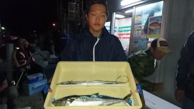 <p>米山様 沖の北 ショアジギ サゴシ/タチウオGET</p> <p>来月にはサワラサイズが出ますよ!おめでとうございます</p>