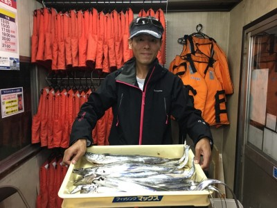 <p>川崎様 沖の北 ワインド タチウオ多数/50cmクラスサゴシ</p> <p>釣りビジョンにも映るかもですね(^^♪おめでとうございます!</p>