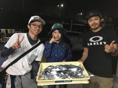 <p>豊田様 沖の北 ワインド タチウオ多数</p> <p>こちらも好釣果ですね♪おめでとうございます</p>