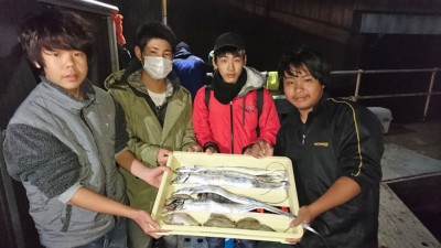 <p>森様 沖の北 ワインド タチウオ多数GET</p> <p>サンバソウ等も釣れたとの事です(^^♪おめでとうございます!</p>