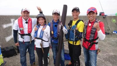 <p>本日「四季の釣り」の撮影が沖の北で行われております(^^♪伊丹さんやメジャークラフトの広瀬さんも来られ、釣果に期待です♪</p>