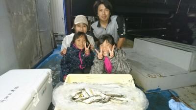 <p>北田様ファミリー 沖の北 サビキ/ウキ釣り アジ/タチウオGET</p> <p>タチウオの引きを堪能されたそうです(^^♪おめでとうございます!</p>