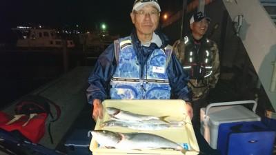 <p>森田様 沖の北 のませ釣り ハマチ/メジロ/タチウオGET</p> <p>青物ホントに好調ですね(^^♪おめでとうございます!</p>