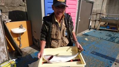 <p>梨田様 沖の北 のませ釣り メジロ67cmGET</p> <p>青物釣果頂きました(^^♪おめでとうございます!</p>