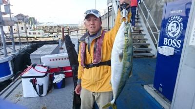 <p>山根様 沖の北 のませ釣り メジロGET</p> <p>今日は青物よく釣れていますね!おめでとうございます(^^♪</p>