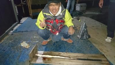 <p>安藤様 沖の北 投げ釣り ハモGET</p> <p>たまにハモが釣れますね(^^♪骨切り頑張ってください!おめでとうございます!</p>