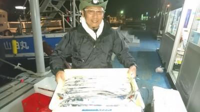 <p>福地様 沖の北 テンヤ タチウオ多数GET</p> <p>多数の釣果おめでとうございます!</p>