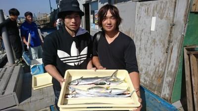 <p>脇坂様 沖の北 ショアジギでサゴシ&amp;タチウオ!</p>
