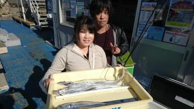 <p>匿名様 沖の北 ショアジギでタチウオ!朝の時合いでの釣果です。</p>