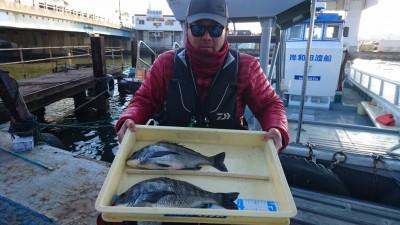 <p>徳富様 沖の北 フカセ釣り チヌGET</p> <p>チヌは狙い目ですね(^^♪おめでとうございます!</p>