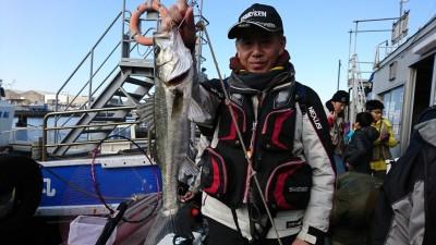 <p>ハネ研 三谷様 旧一文字赤灯 内向き エビ撒き釣りでハネ51.5㎝!エビ撒き釣り好調♪ハネ釣果でスタンプ1個進呈です。</p>