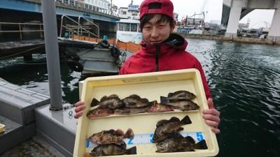 <p>田中様 沖の北 エビ撒き釣り メバルとガシラ大漁!昨日好調だった北のメバルですが引き続き好調のようですね♪</p>