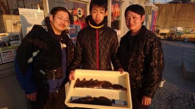 <p>奈良のロッキー様 沖の北 投げ釣り ガシラ/木の葉カレイ多数GET</p> <p>花見カレイに期待が持てる釣果です(^^♪おめでとうございます!</p>