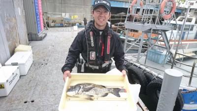 <p>江上様 沖の北 ガンクロ チヌ50.5cmGET</p> <p>ガンクロで年無しでました!おめでとうございます(^O^)</p>