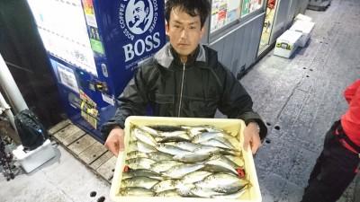 <p>岡本様 沖の北 サビキ 中アジ/アジGET</p> <p>17:00~の2時間の釣果です(^O^)やっぱり雨の日は釣れます!!おめでとうございます</p>