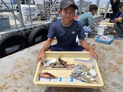 <p>7/28 沖の北 サビキ釣りで大量の豆アジと5匹の中アジGET!ツバス、メバル、ガシラも釣れてます!ありがとうございました!</p>