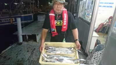 <p>大西様 沖の北 テンヤ タチウオGET</p> <p>良く釣れる日もあれば、渋い日もあります(^O^)釣りは面白いですね!おめでとうございます</p>