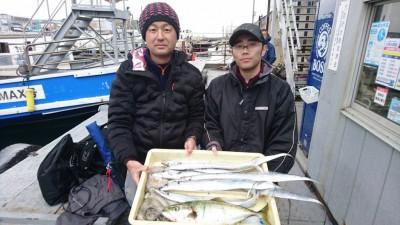 <p>記録様 早水様 沖の北 ノマセとテンヤでタコとハマチとタチウオGET</p> <p>タコもノマセで釣れたようです!おめでとうございます!</p>