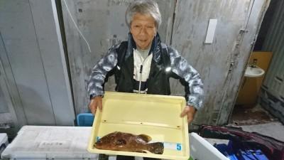 <p>熊谷弟子様 旧一文字白灯 エビ撒き アコウ41cmGET</p> <p>年末の良い魚が釣れましたね!18:30頃釣れたそうです(^O^)おめでとうございます</p>