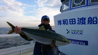<p>青物プロ村田様 沖の北先端 のませ釣りでブリ80㎝!7時40分にかかったブリの直後にヒット!一匹かけると他の魚の活性があがって後ろを追っかけてくることがあるので、取り込んだらすぐに仕掛けを入れると連チャンしたりしますよ。</p>