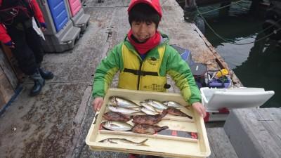 <p>はるとし君 沖の北 サビキでアジ サグリ釣りでガシラGET</p> <p>数は落ちてますが、アジまだ釣れてるようですね!おめでとうございますけど</p>