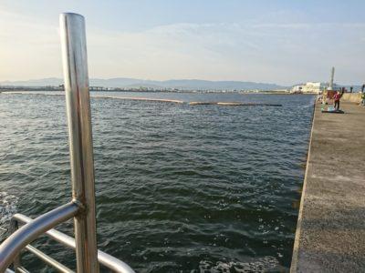 <p>リアルタイム(6:00) 北風が吹いた影響で昨日とはがらっと変わって濁り潮に。落とし込みには好条件です♪昨日めちゃくちゃわいてた小サバは少ないようでした。若干苦潮気味のようで根の魚がちょっと浮いてることも。タコも壁に着いているかもしれませんね。ただワカメがまだ多くて壁は狙いにくいです。</p>
