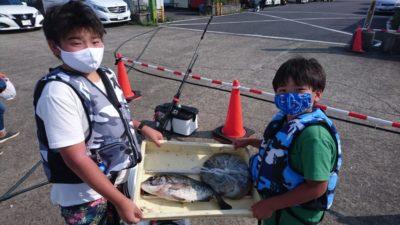 <p>旧一文字 タコエギとワーム タコとチヌGET</p><p>暑い中お疲れ様でした(^^♪</p>