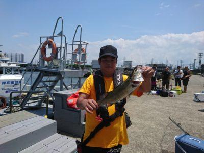 <p>さんじ君 沖の北 エビ撒き釣りでハネ!今日は初挑戦のタコ釣りで300gくらいのタコも釣ってました♪</p>