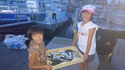 <p>沖の北 サビキ アジGET</p><p>足元で十分釣れています(^^♪サイズは20cmまでです</p>